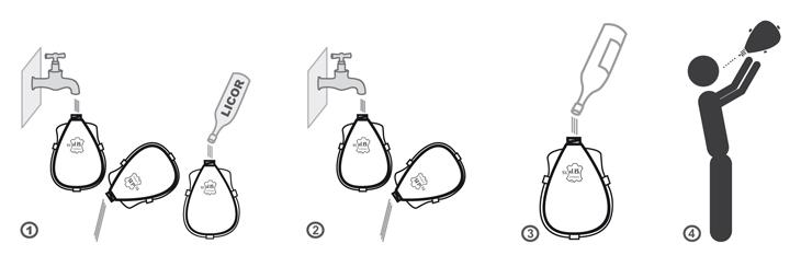 Bota de Vino Látex Manual de Uso
