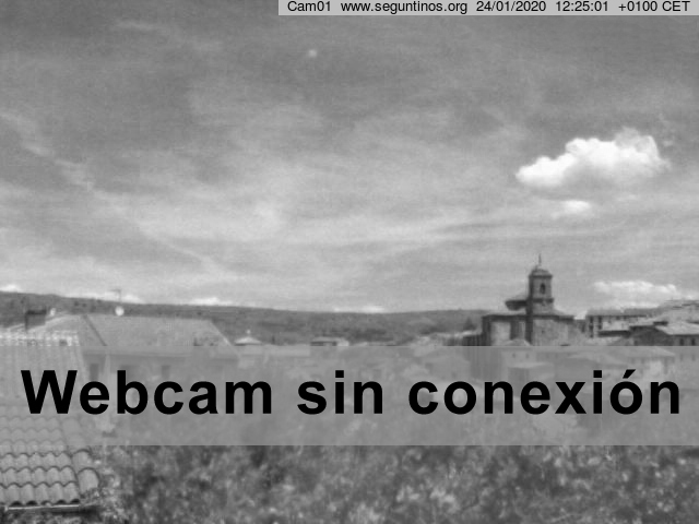 Webcam 01 Sigüenza